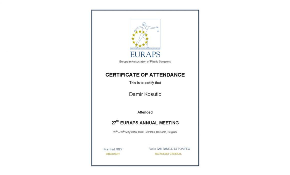 certificate-EURAPS